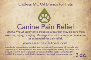 Canine-Pain-Relief