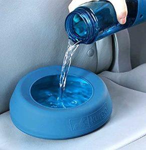 travel bowl, water bottle, dog water bowl, travel dog bowl, orvis travel, orvis dog