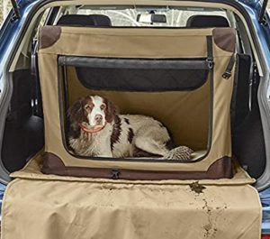 Orvis, soft sided crate, dog crate, travel crate, orvis dog, orvis travel